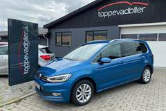 VW Touran 2,0 TDi 190 Highline DSG Van