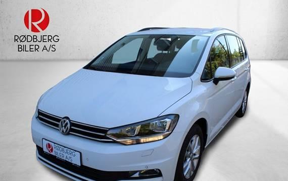 VW Touran 1,6 TDi 115 Comfortline DSG