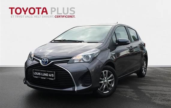 Toyota Yaris 1,5 VVT-I H2 E-CVT  5d Aut.