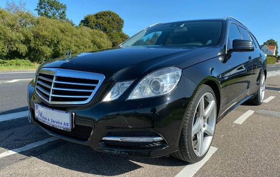 Mercedes E300 3,0 CDi Avantgarde stc. aut. BE