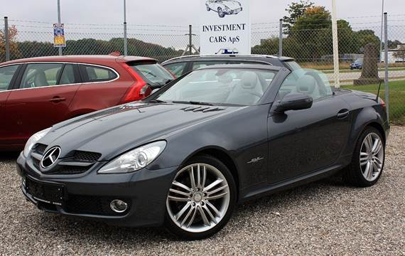 Mercedes SLK200 1,8 aut. BE