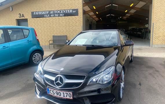 Mercedes E350 3,0 BlueTEC AMG Line Cabriolet aut