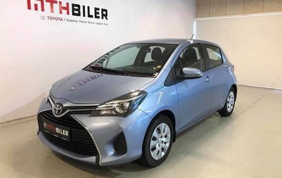 Toyota Yaris 1,3 VVT-I T2 Luksus Multidrive S  5d 6g Aut.