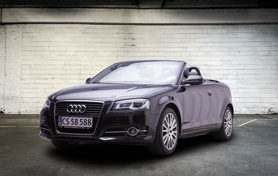 Audi A3 1,8 TFSi Attraction Cabriolet S-tr