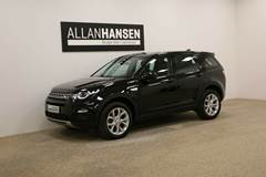 Land Rover Discovery Sport 2,0 TD4 180 HSE Van