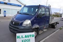 Renault Mascott 3,0 dCi 160 Mandskabsvogn m/lad