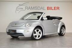 VW New Beetle 1,6 Cabriolet