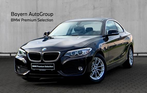 BMW 220d 2,0 Coupé aut.