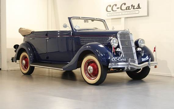 Ford V8 3,6 Deluxe Convertible