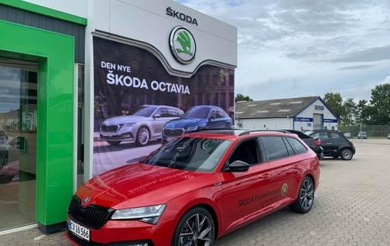 Skoda Superb 2,0 TDi 190 Sportline Combi DSG