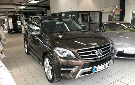 Mercedes ML350 3,0 BlueTEC AMG Line aut. 4-M
