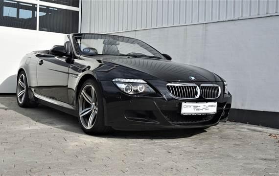 BMW M6 5,0 Cabriolet aut.
