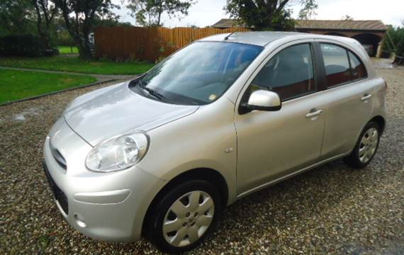 Nissan Micra 1,2 Person bil