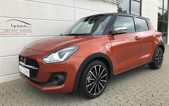 Suzuki Swift 1,2 Dualjet Hybrid Exclusive Lysen Edition  5d