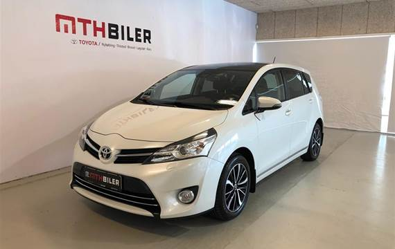 Toyota Verso 1,8 7 pers.  VVT-I T2 premium + Skyview  6g