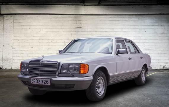 Mercedes 380 SE 3,8 aut.