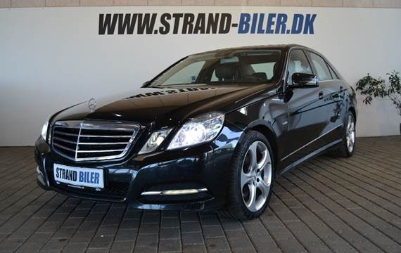 Mercedes E350 3,0 CDi aut. 4-M BE
