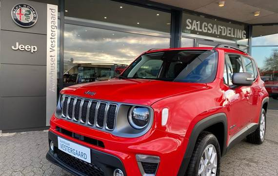 Jeep Renegade 1,3 Turbo Limited First Edition 4xe  5d 6g Aut.