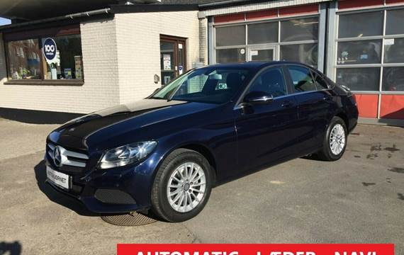 Mercedes C220 d 2,2 Exclusive aut.