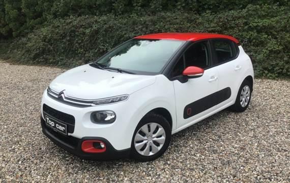 Citroën C3 1,6 BlueHDi 75 Feel+ Van