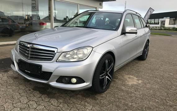 Mercedes C200 2,2 CDi stc. aut. BE