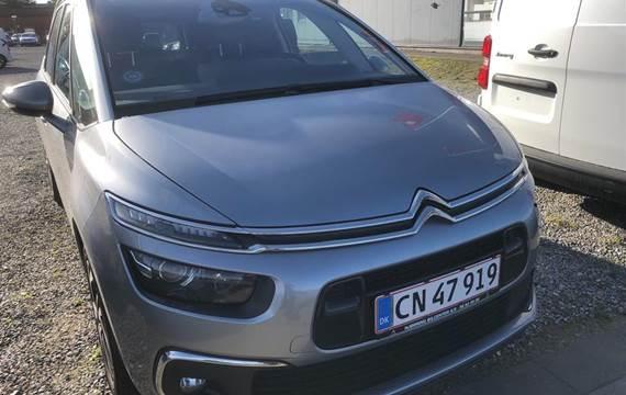 Citroën Grand C4 SpaceTourer ,0 Blue HDi Exclusive EAT8 start/stop  8g Aut.