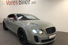 Bentley Continental Supersports 6,0 aut.