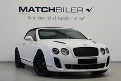 Bentley Continental Supersports 6,0 Convertible aut.