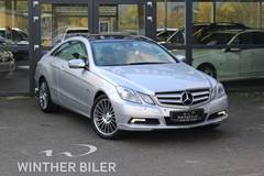 Mercedes E350 3,0 CDi AMG Line Coupé aut. BE