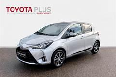 Toyota Yaris 1,5 B/EL H2 Limited E-CVT  5d Trinl. Gear