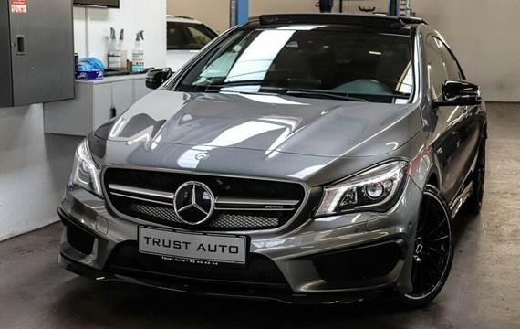 Mercedes CLA45 2,0 AMG aut. 4-M
