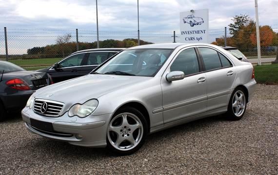 Mercedes C200 2,0 Komp. Avantgarde aut.
