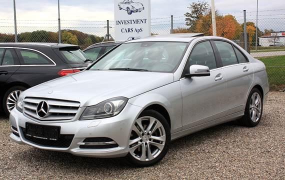 Mercedes C250 1,8 Avantgarde aut. BE