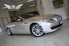 BMW 650i 4,4 Cabriolet aut.