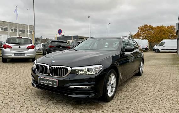 BMW 520d Touring 2,0 D Connected Steptronic 190HK Stc 8g Aut.