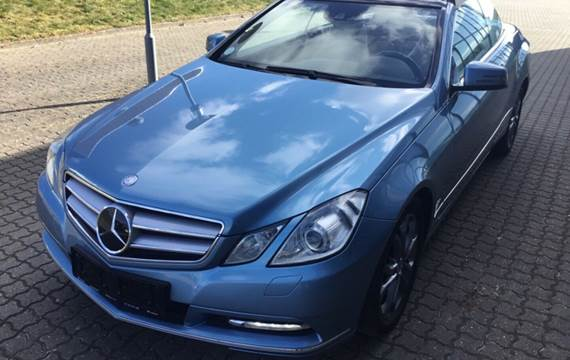 Mercedes E250 2,2 CDi Avantgarde Cab. aut. BE