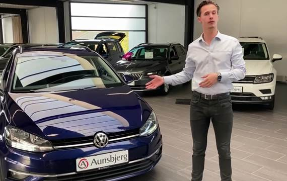 VW Golf VII 1,6 TDi 115 Comfortl. Variant DSG