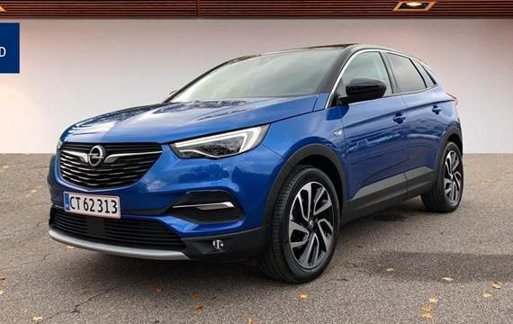Opel Grandland X 1,2 T Exclusive Start/Stop  5d 8g Aut.