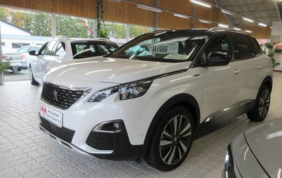 Peugeot 3008 1,5 BlueHDi 130 GT Line LTD EAT8