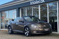 VW The Beetle 1,4 TSi 160 Exclusive Cabrio. DSG