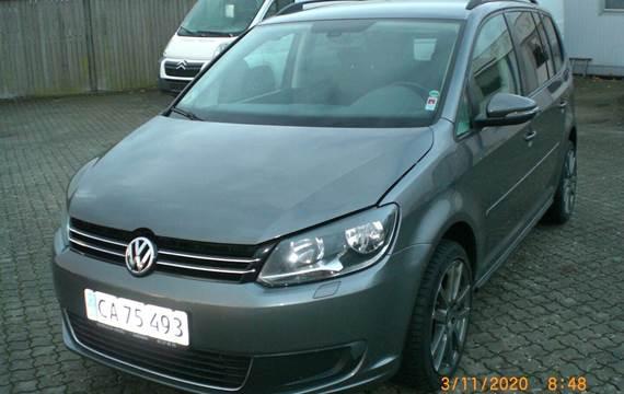 VW Touran 2,0 TDi 140 Life BMT 7prs