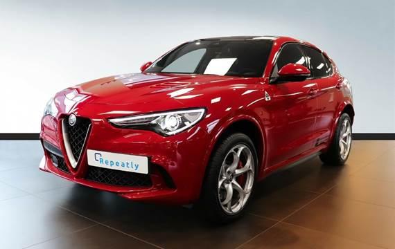 Alfa Romeo Stelvio 2,9 V6 Quadrifoglio aut. Q4