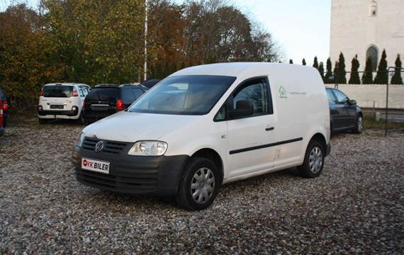 VW Caddy 1,9 TDi 104 Van