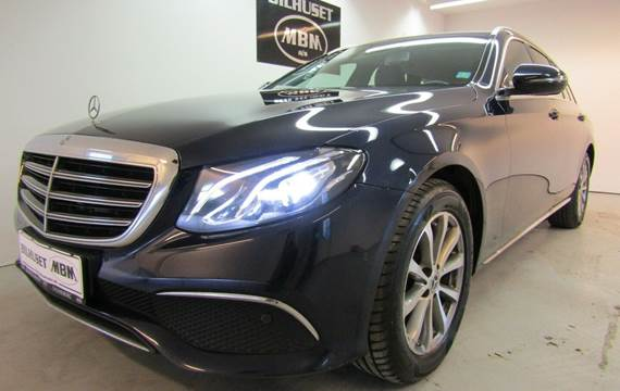 Mercedes E220 d 2,0 Launch Edition stc. aut.