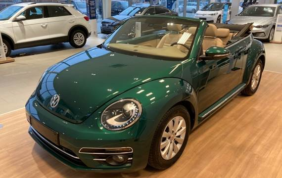 VW The Beetle 1,2 TSi 105 Life Cabriolet DSG