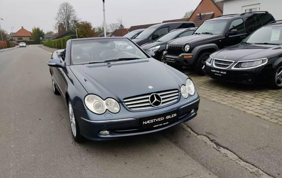 Mercedes CLK240 2,6 Cabriolet Avantgarde aut.