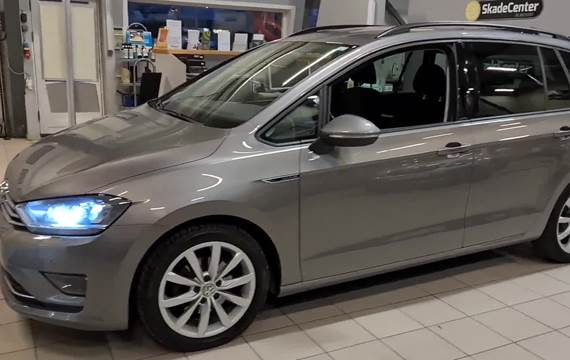 VW Golf Sportsvan 1,6 TDi 110 Lounge DSG BMT