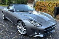 Jaguar F-Type 3,0 S/C Convertible aut.