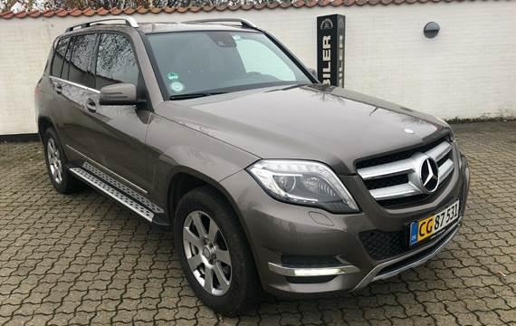 Mercedes GLK220 2,2 CDi aut. 4-M BE Van