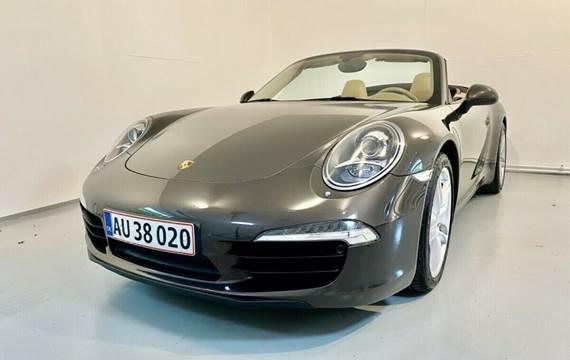 Porsche 911 Carrera 3,4 Cabriolet PDK